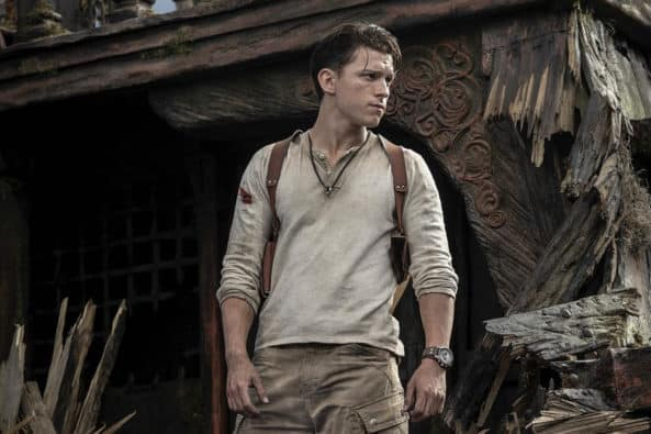 Uncharted movie delayed one week delay, sony, tom holland,