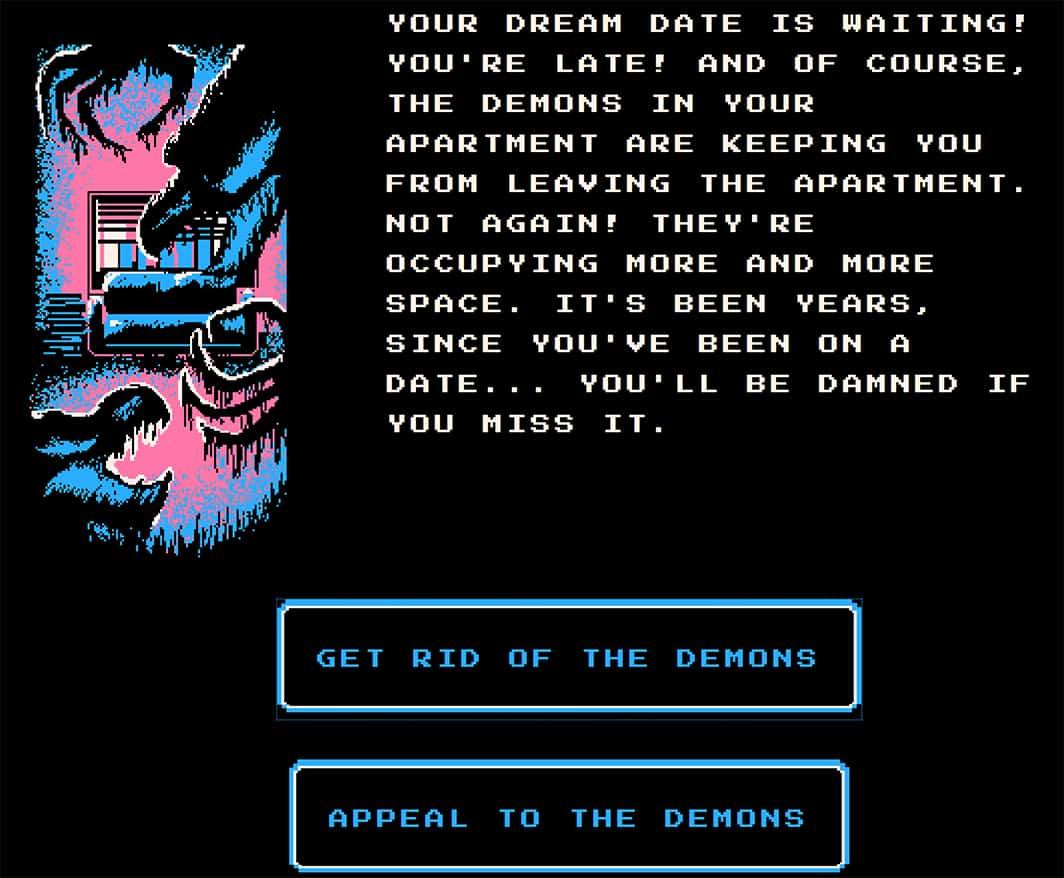 Gabriel Cornish Al choose your own adventure game free browser demons