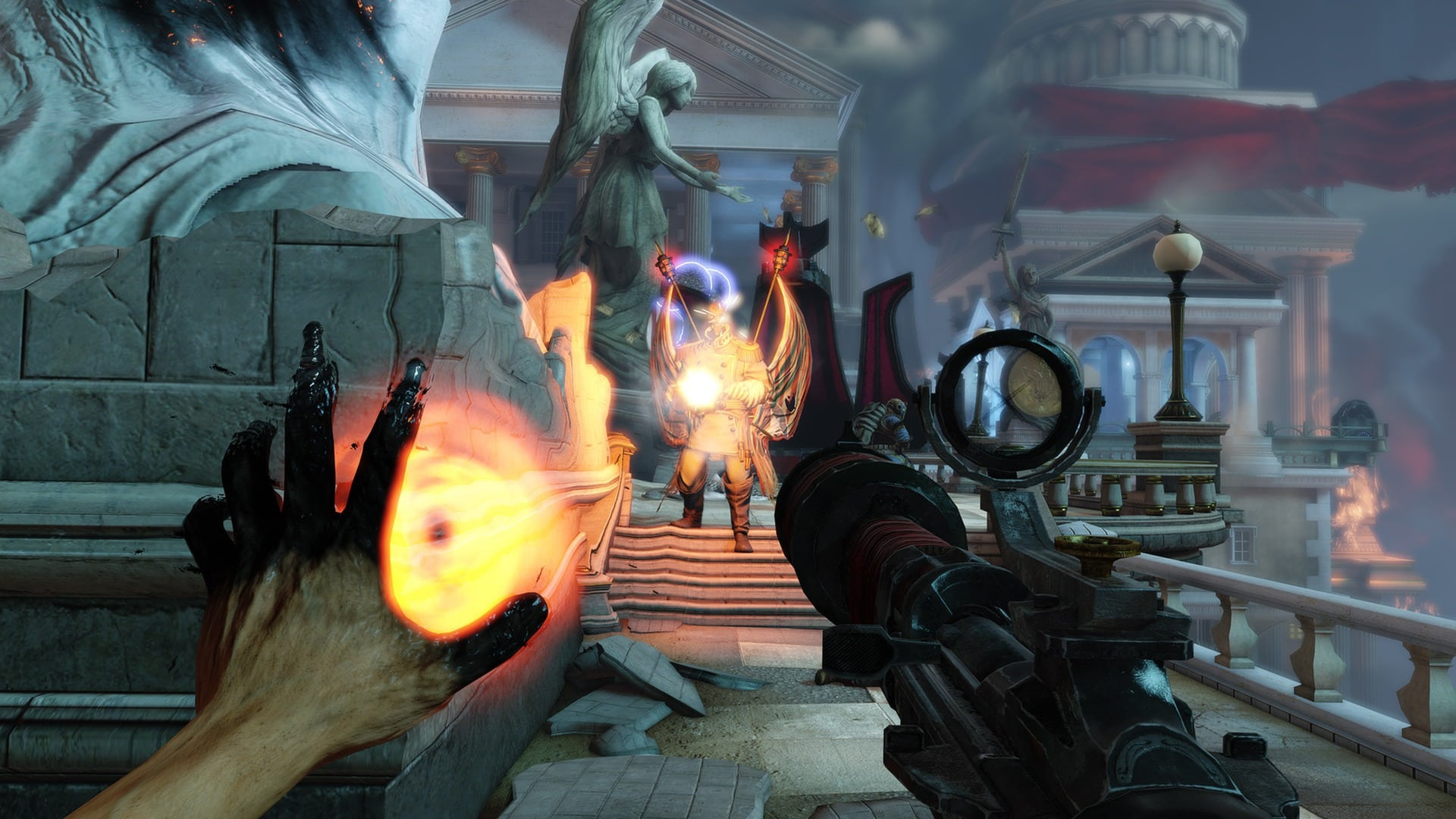 Irrational Games Ken Levine BioShock Infinite is not BioShock 3 with its messy story construction and unrewarding gameplay