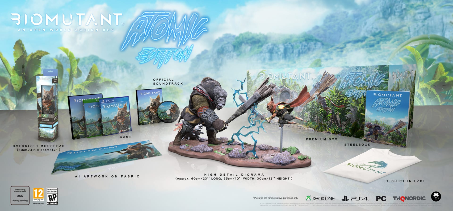 THQ Nordic Biomutant Atomic Edition collector's edition