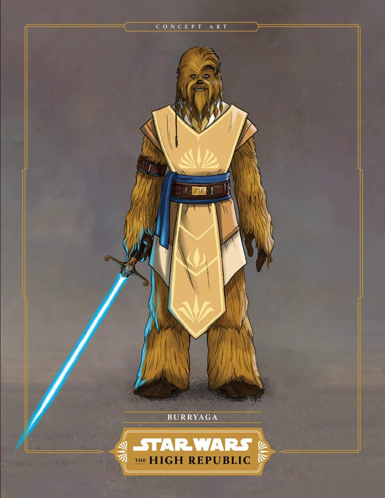 Burryaga Star Wars: Light of the Jedi review novel book The High Republic disappointing, undercooked, slowly paced writing