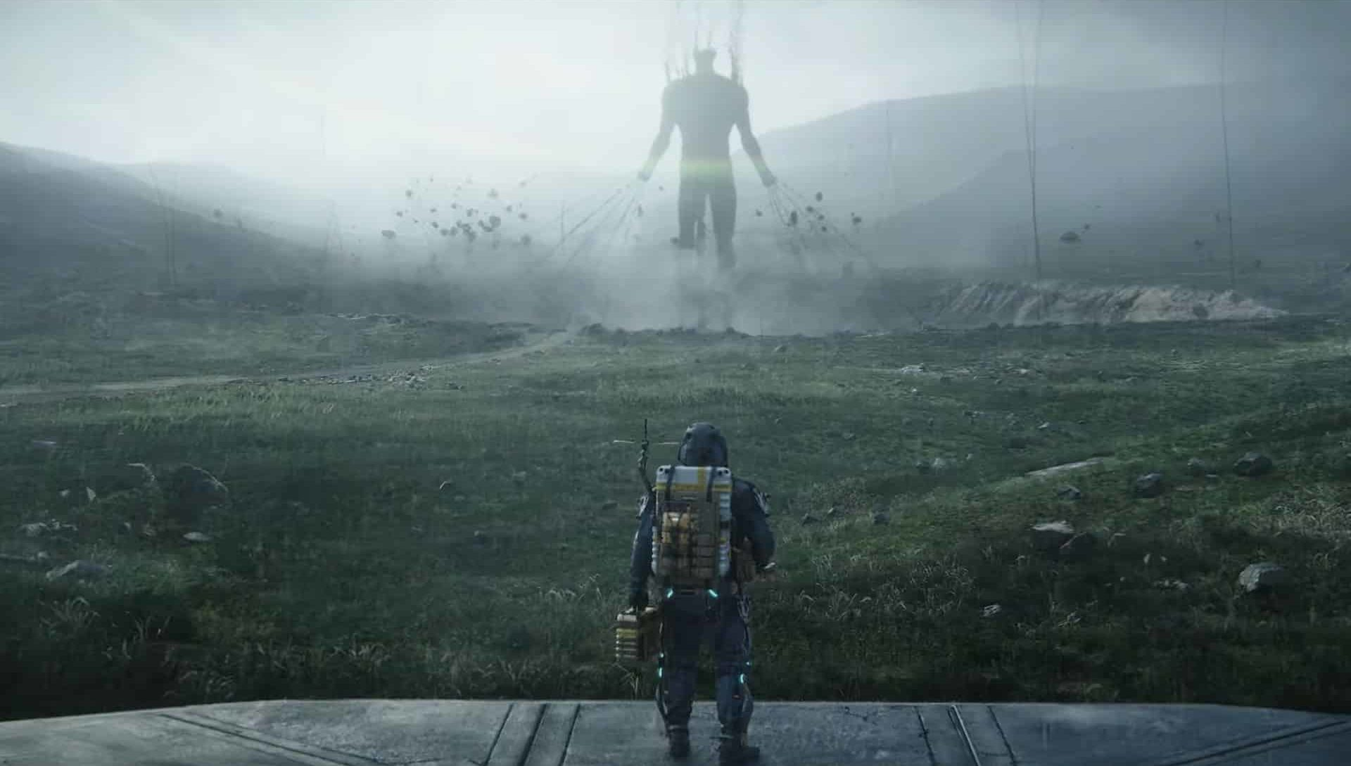 gnawing Death Stranding tomb cities horror of world without humanity