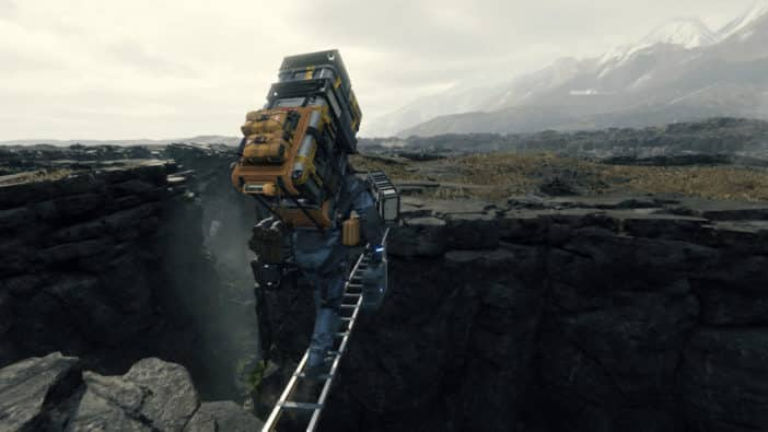 Death Stranding definitive 2020 game Hideo Kojima Productions isolation, social distancing, reconnecting amid COVID pandemic and disaster