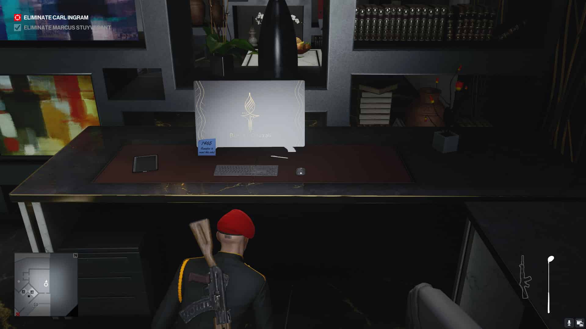 Hitman 3: On Top of the World Special Kills Guide Conserve Ammo Impactful Art