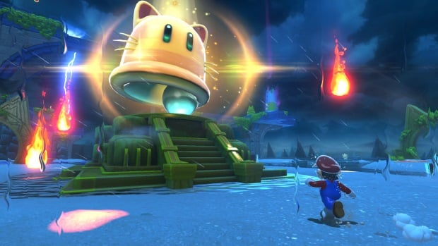 Super Mario 3D World + Bowsers Fury overview trailer explains Cat Shines, Giga Bell, Fury Bowser, Snapshot camera mode, co-op, and more. Super Mario 3D World + Bowser's Fury overview trailer