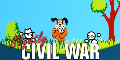 baby mario duck hunt slightly civil war super mario world 2: yoshi's island