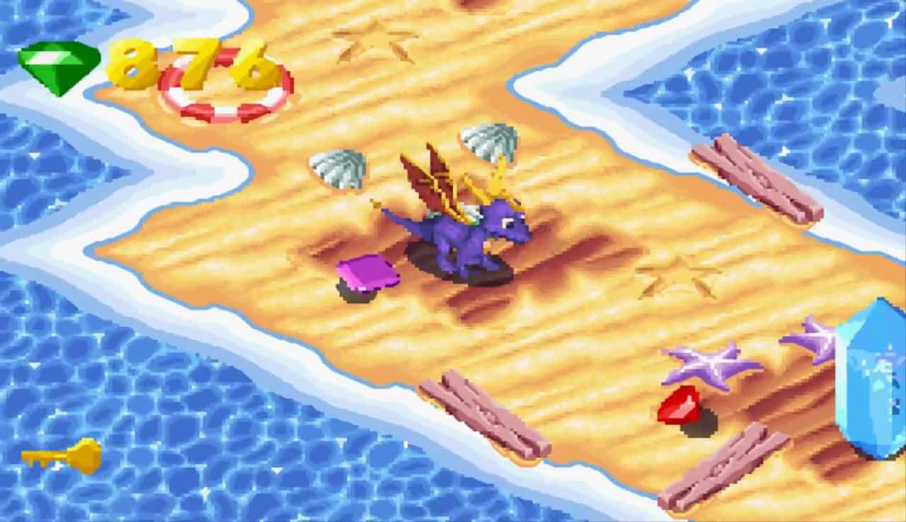 Spryo: Season of Ice Game Boy Advance