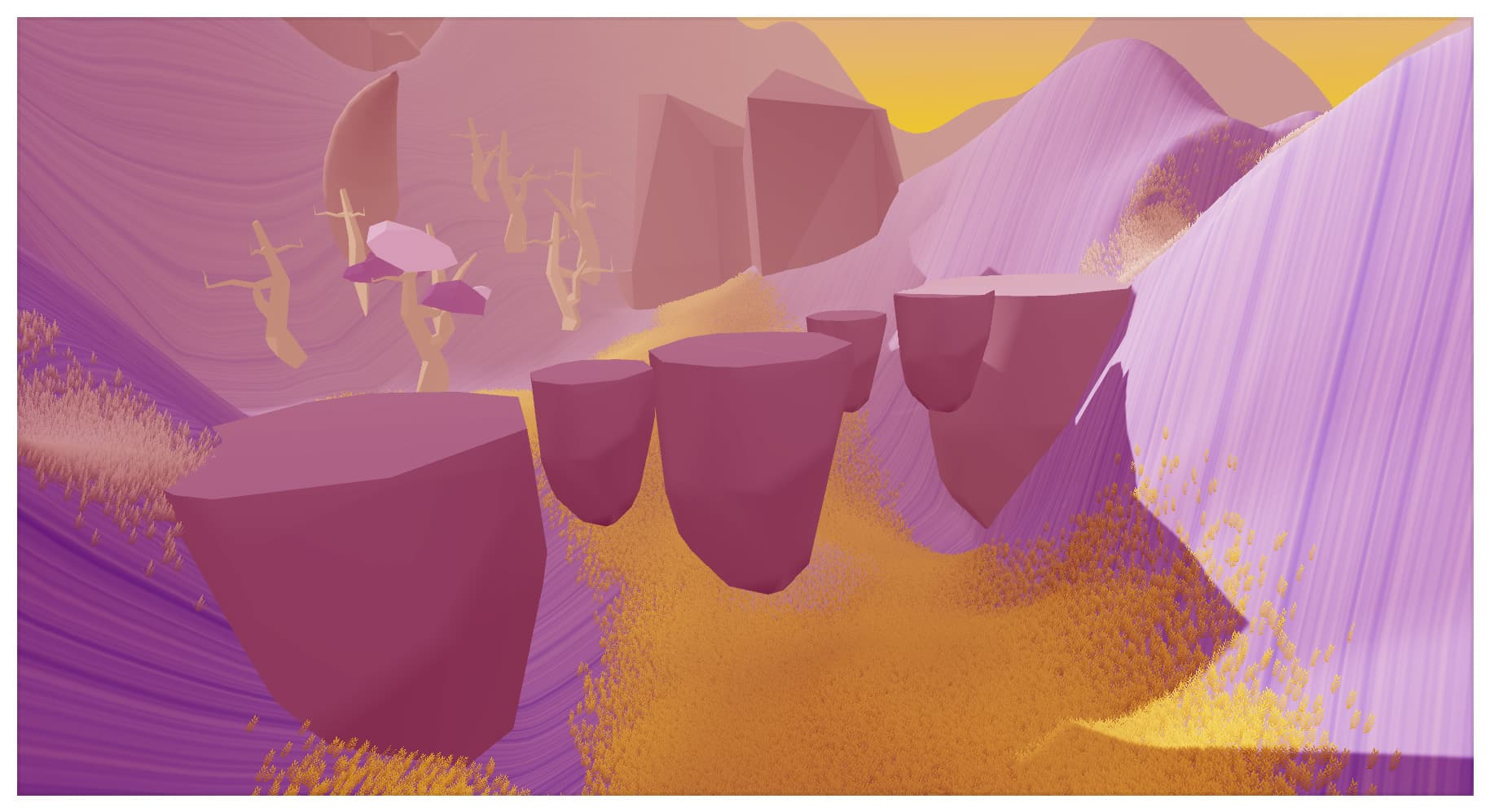 Triangle from Iván Aco and Luis Márquez free serene walking simulator with platforming and story elements
