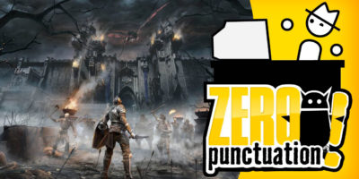 Yahtzee Croshaw Zero Punctuation review Demon's Souls Bluepoint Games