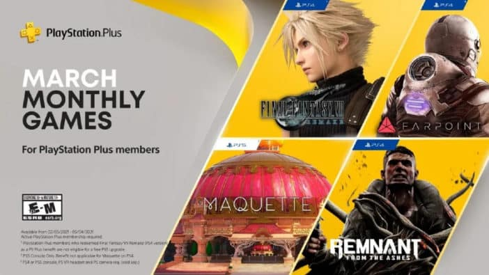 Video game news 2/26/21: Final Fantasy VII Remake on PS Plus, PlayStation 5 storage upgrades reportedly coming in summer, new EA Play games star wars squadrons mlb the show xbox superhot control mind delete