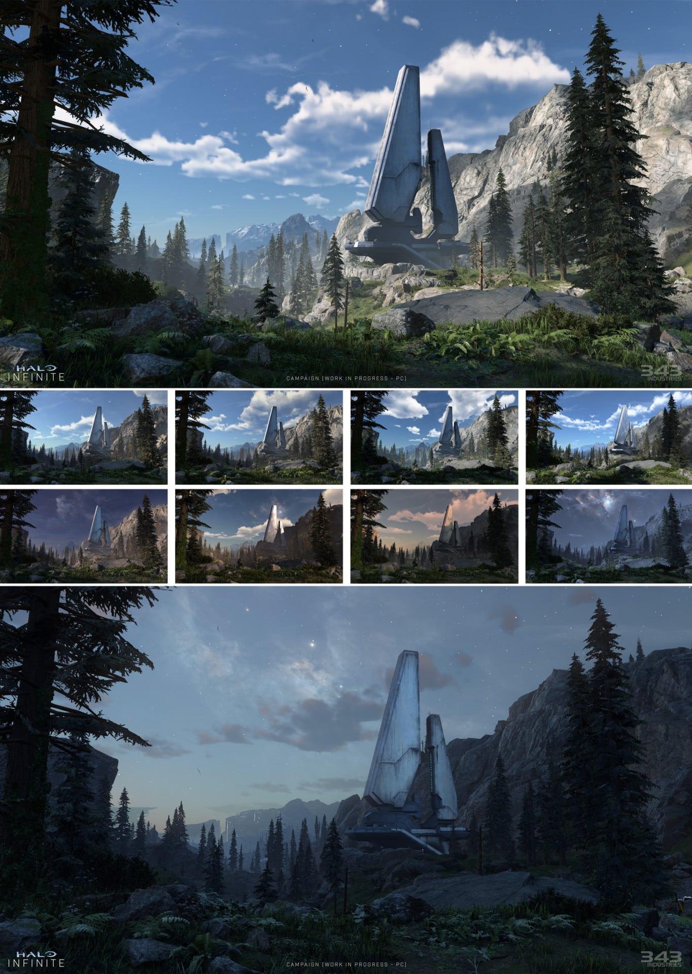 Halo Infinite sandbox world narrative visual improvements 343 industries