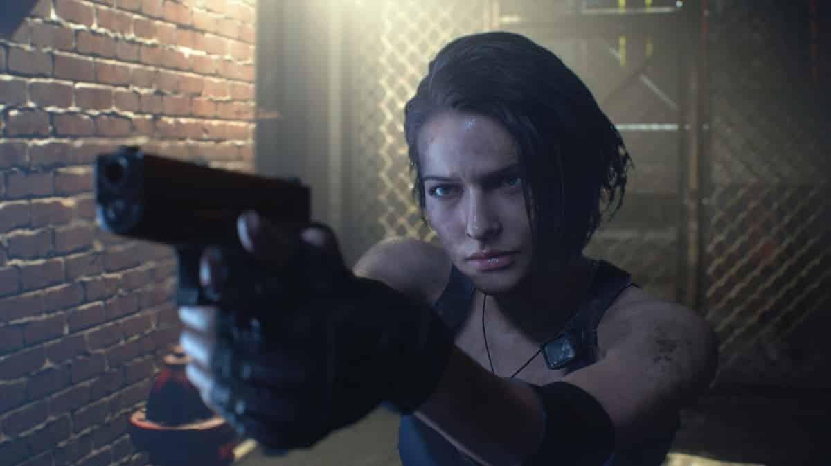 Resident Evil 3 remake Capcom M2 horror
