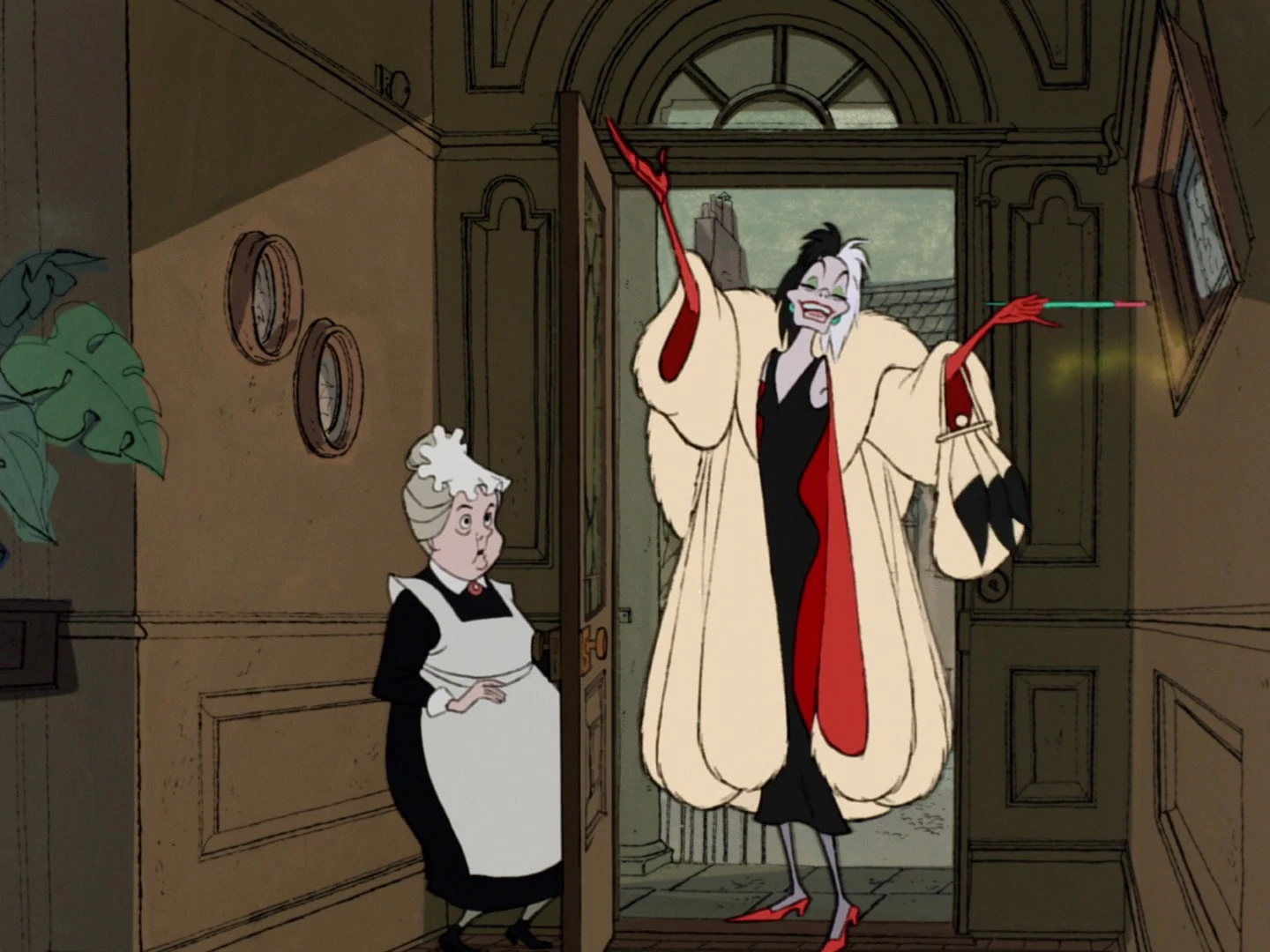 Disney Cruella mystique villain villainy mystery of evil ruined by too much information, backstory, exposition as seen with Darth Vader