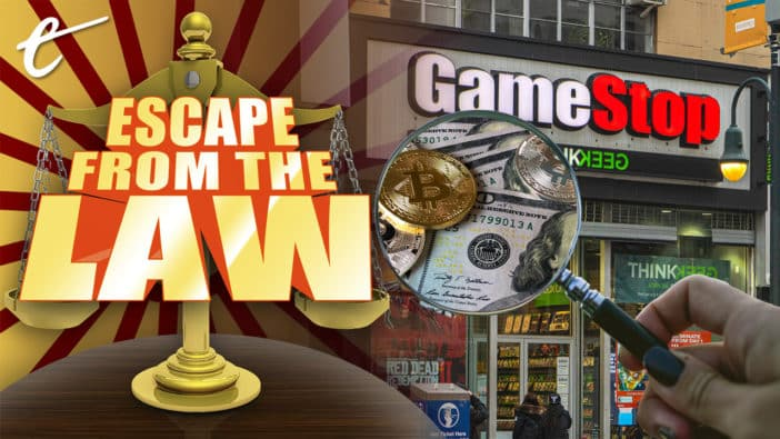 GameStop stock price requiem retail traders investor Robinhood law legality lawsuit did nothing wrong Escape from the Law