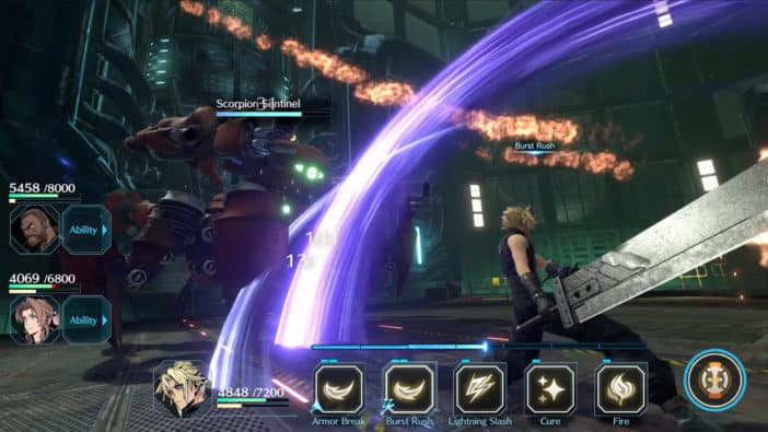 Final Fantasy VII: The Last Soldier Battle Royale & Series Compilation Ever Crisis Head to Mobile
