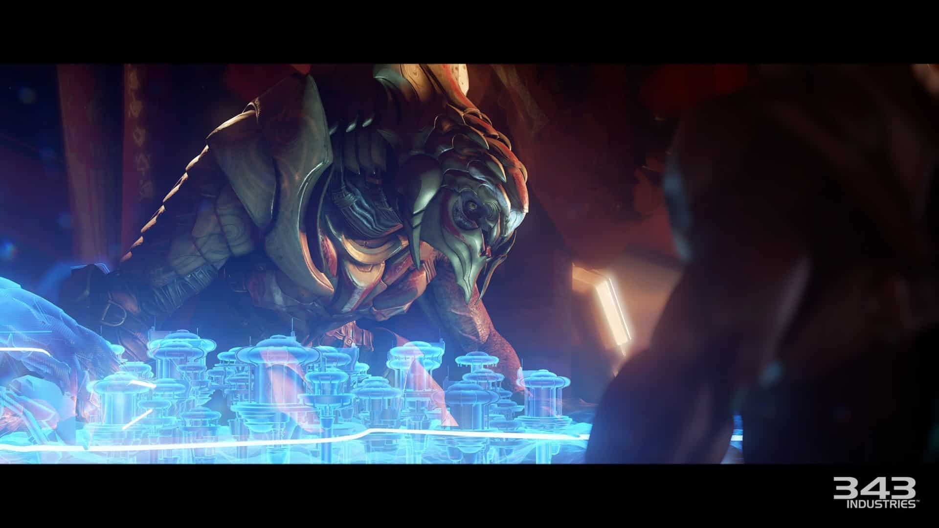 Halo Arbiter impact on franchise game design narrative storytelling religion themes character development Halo 2 Halo 5 343 Industries Bungie