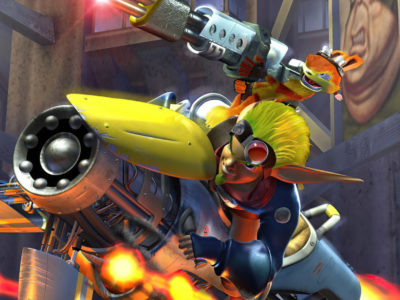 Naughty Dog should return to Jack and Daxter Jak II