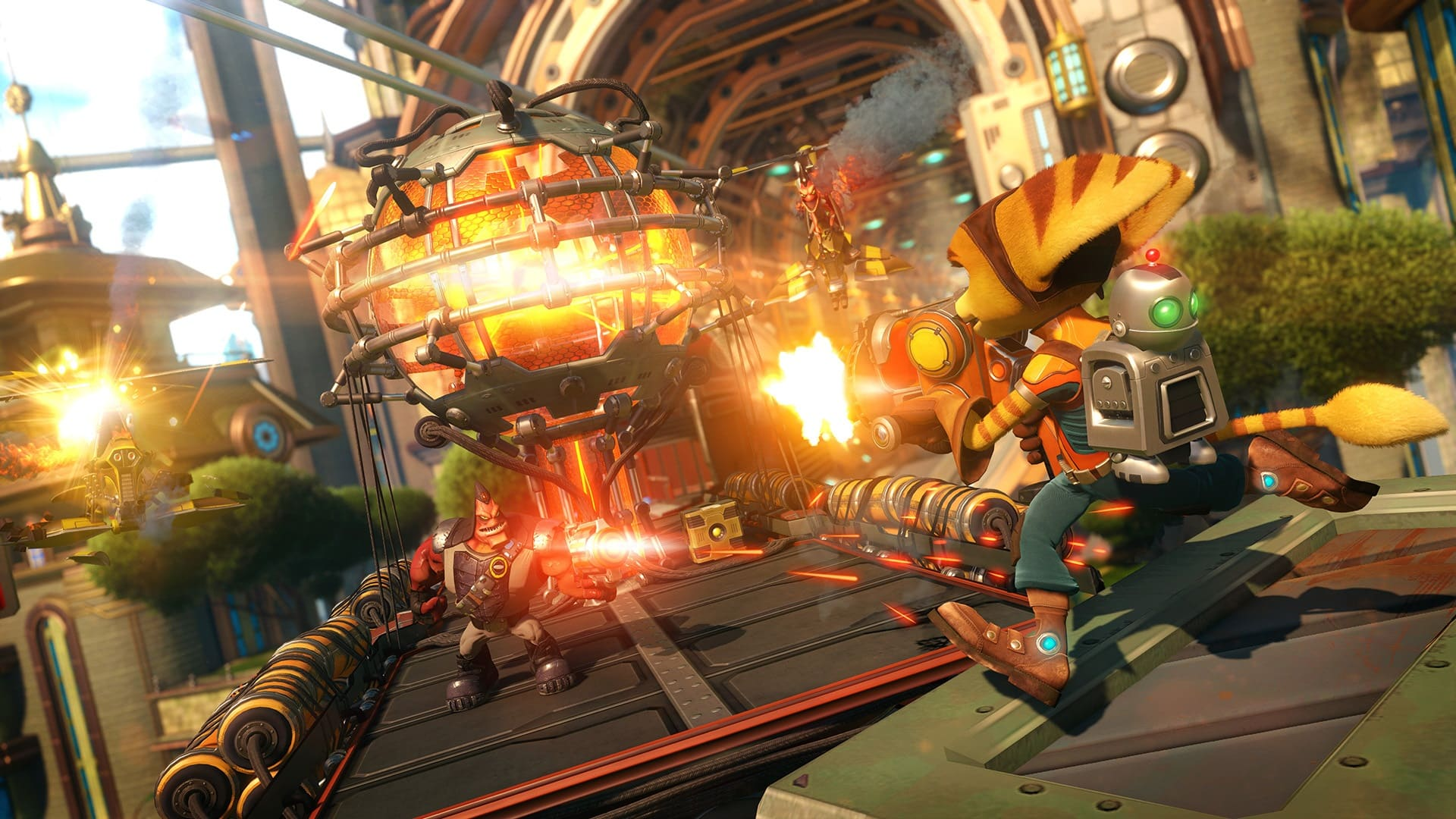 Insomniac Games 2016 Ratchet & Clank PS4 PlayStation 4 remake reimagining