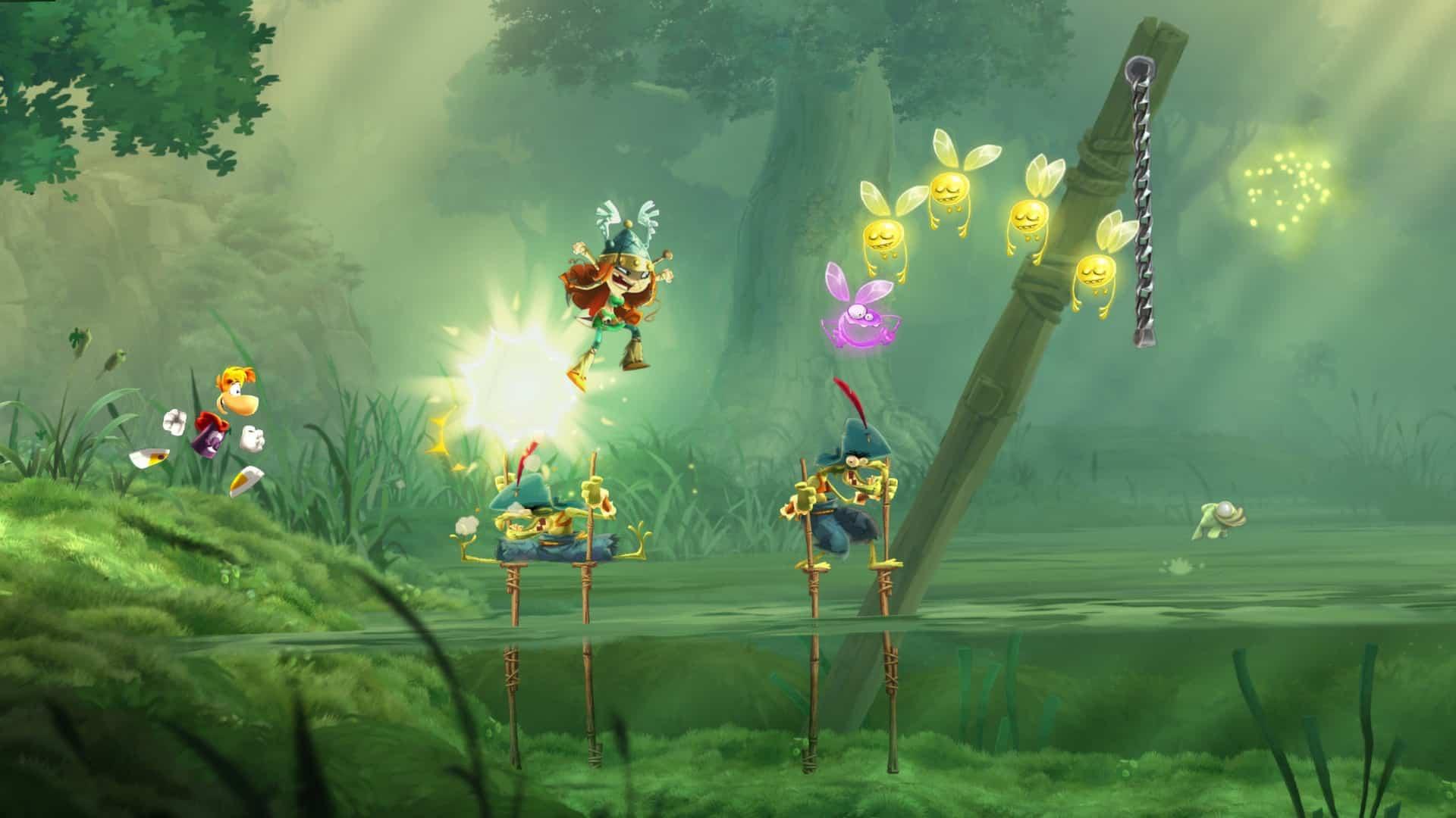 Rayman Legends Ubisoft best game platforming excellence with tons of content