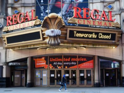 Warner Bros. movies films theatrical theater HBO Max release Cinemaworld Regal Theaters