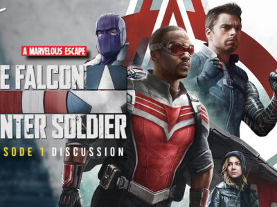 The Falcon and the Winter Soldier New World Order Discussion - A Marvelous Escape darren mooney kc nwosu jack packard