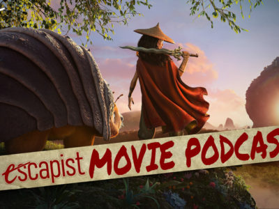 The Escapist Movie Podcast Jack Packard Darren Mooney Raya and the Last Dragon Coming 2 America