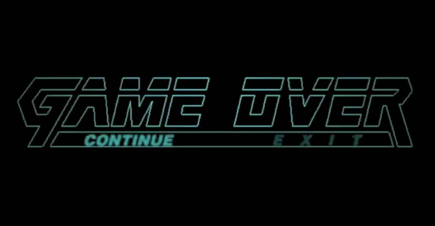 Game Over Metal Gear Solid not you died