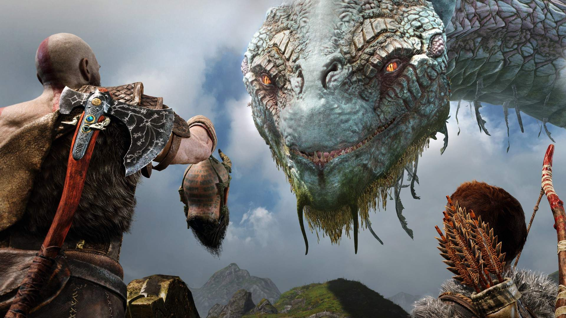 God of War 2018 Sony Santa Monica cohesive video game with little issues that destroy it wonky combat