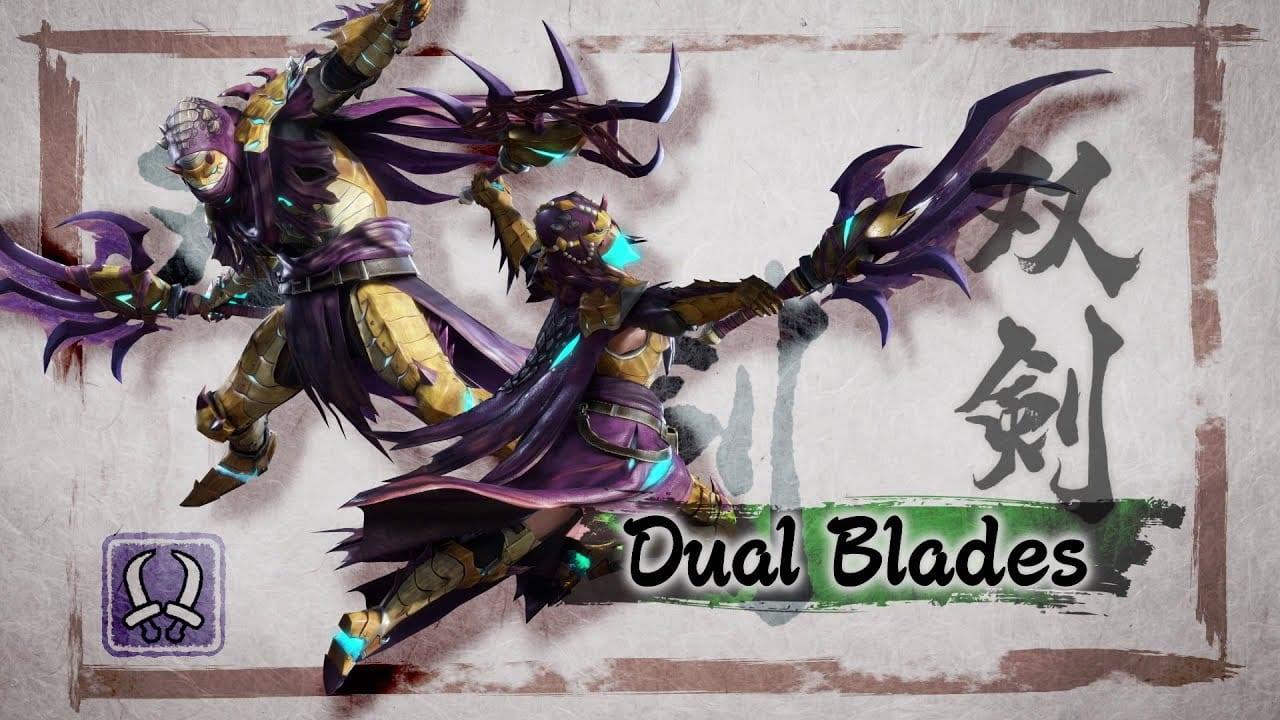 best monster hunter rise weapons for beginners Capcom Nintendo Switch Dual Blades