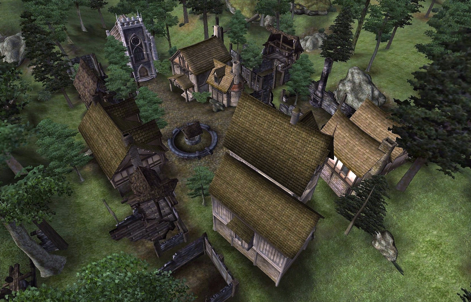 The Elder Scrolls IV: Oblivion NPCs Radiant AI NPC chaos murder theft from Bethesda and Todd Howard