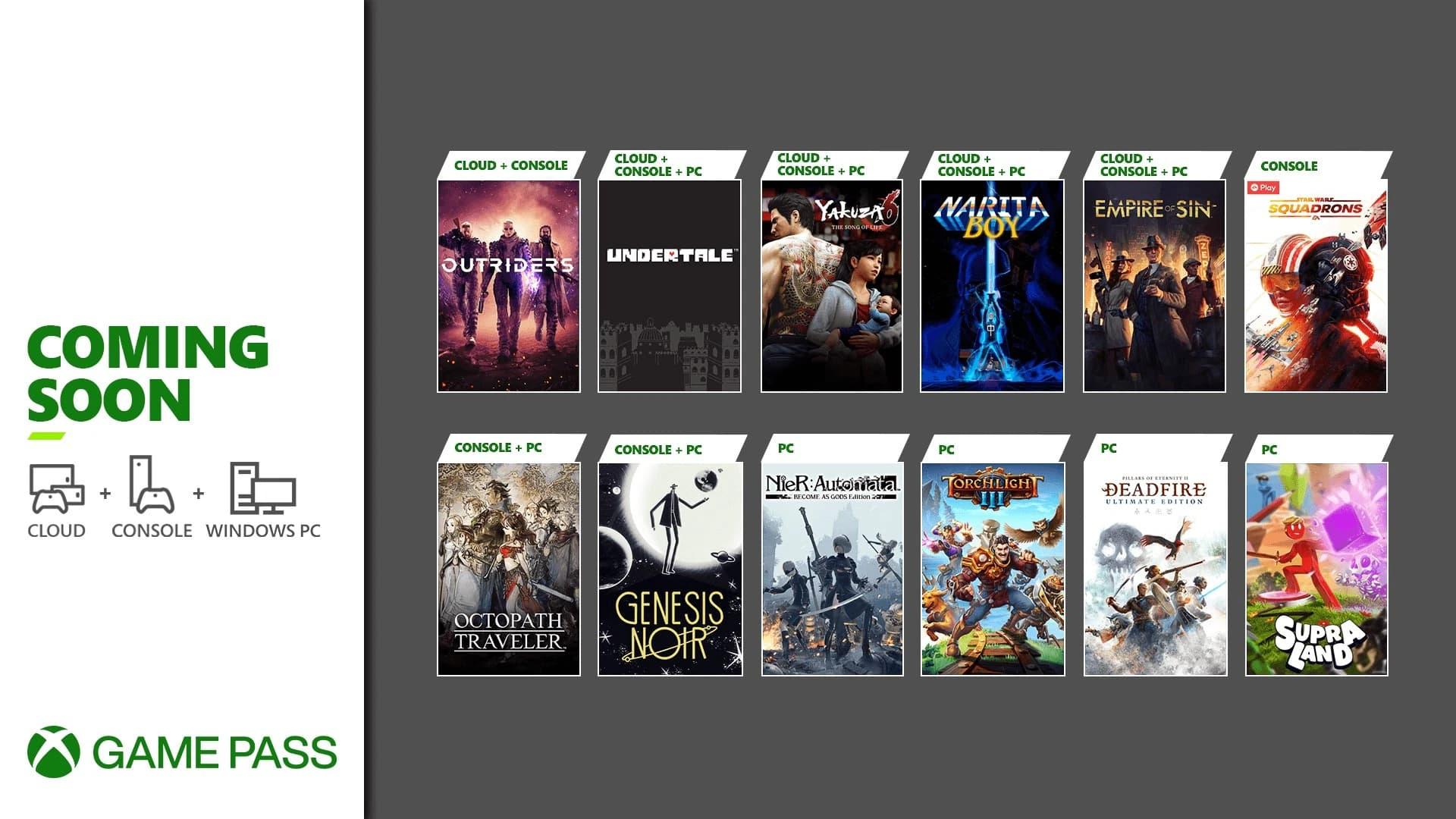 Octopath Traveler Xbox Game Pass