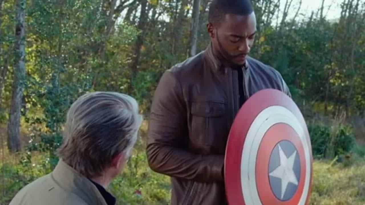who owns captain america the government smithsonian steve rogers john walker sam wilson the falcon and the winter soldier escape from the law legal rights ownership trademark copyright shield symbol title Avengers: Endgame
