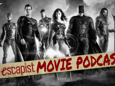 darren mooney jack packard lee the escapist movie podcast zack snyder justice league hbo max zack snyder's justice league