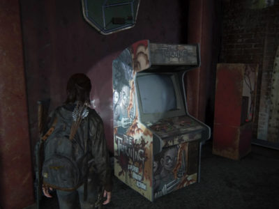 The Last of Us Part II arcade The Turning Ellie grows past Riley The Last of Us: Left Behind