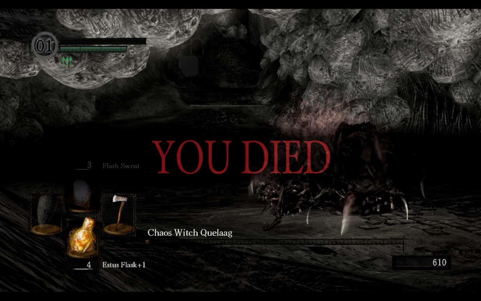 you died game over video games dark souls bloodborne demon's souls