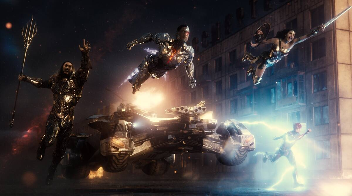 unlike Joss Whedon Justice League, Superman is inspiration to each member, Batman Flash Aquaman Cyborg not so much Wonder Woman, in Zack Snyder's Justice League
