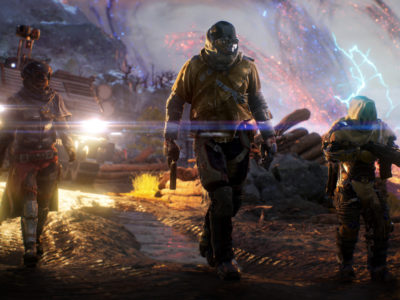 Outriders looter shooter values player time People Can Fly Square Enix