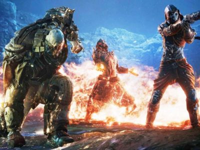 Video game news 4/1/21: Huge Outriders debut on Steam for Square Enix, PlatinumGames Sol Cresta might be real, Dying Light 2 performance Maneater: Truth Quest DLC expansion gavin moore leaves sony japan studio