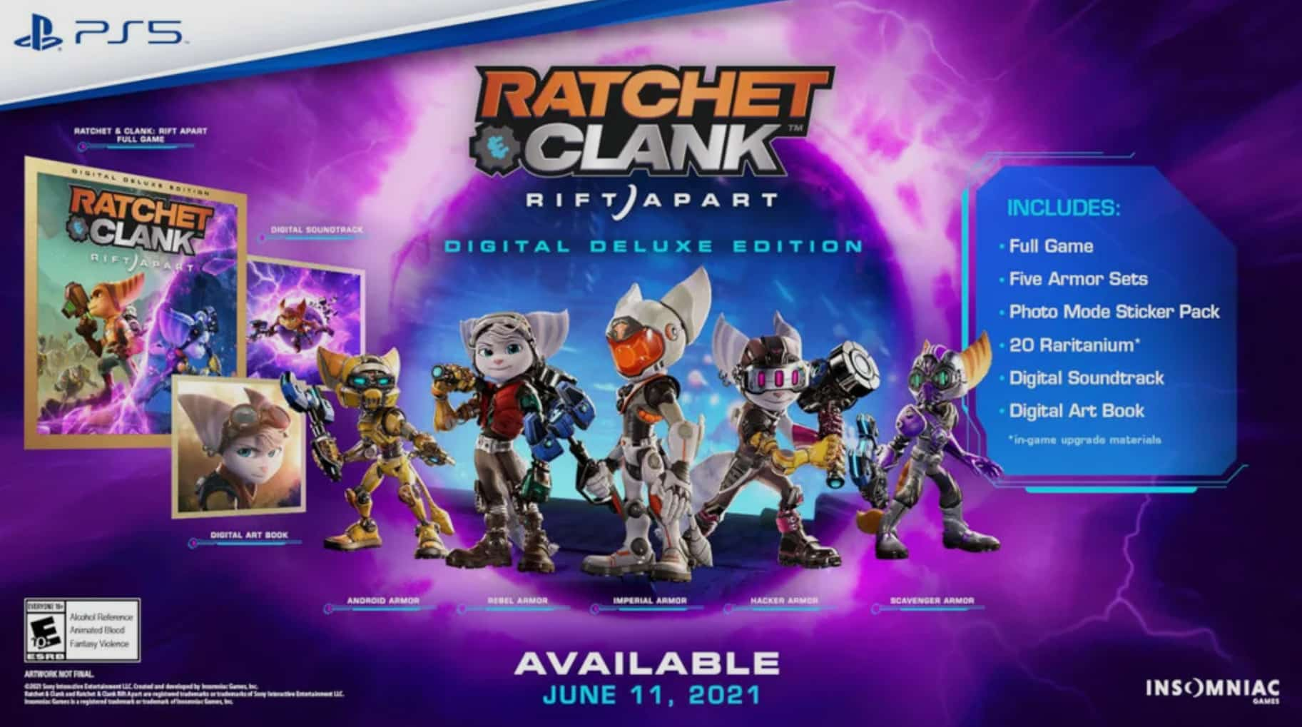 ratchet & Clank: Rift Apart, Rivet, insomniac Games, digital deluxe edition, state of play, gameplay trailer