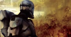 Null Alpha arc trooper Star Wars: The Bad Batch clone army troopers