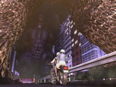 City Shrouded in Shadow Kyoei Toshi Godzilla game Ultraman Japan kaiju survival PlayStation 4
