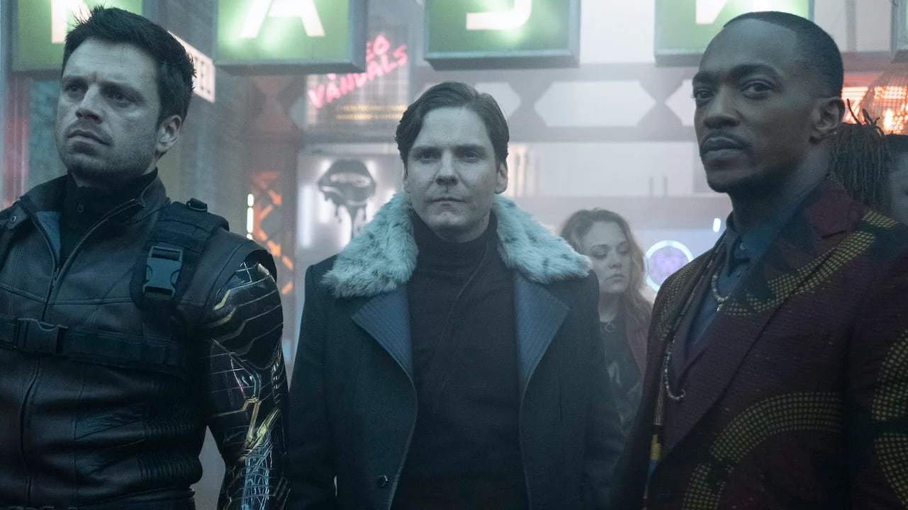 Baron Helmut Zemo The Falcon and the Winter Soldier better improvement with comedy, fixed over Captain America: Civil War depiction