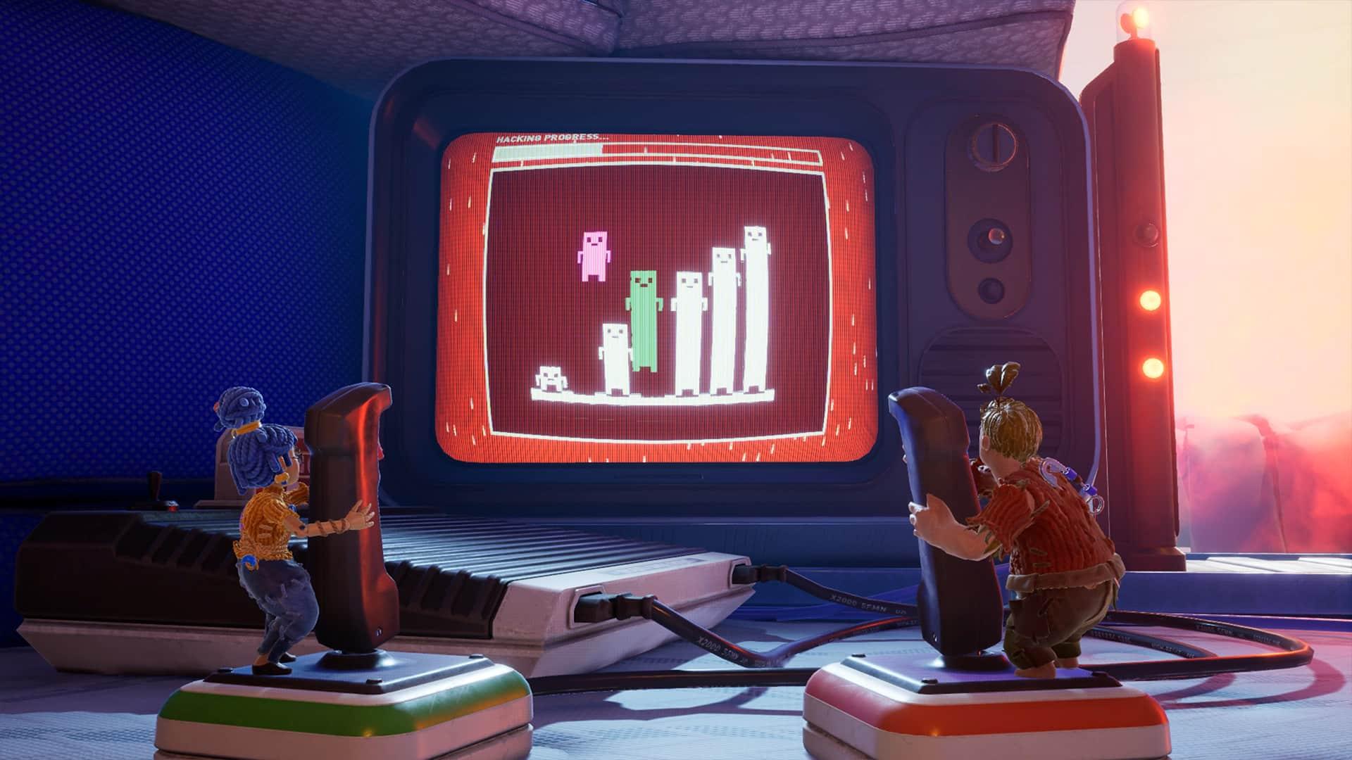 Hazelight It Takes Two video game literacy games language controller alphabet