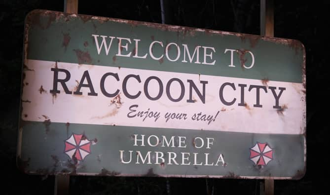 weirdest Resident Evil franchise stuff to include or not in Resident Evil: Welcome to Raccoon City movie herbs Spencer Mansion traps police station keys G-Virus leeches