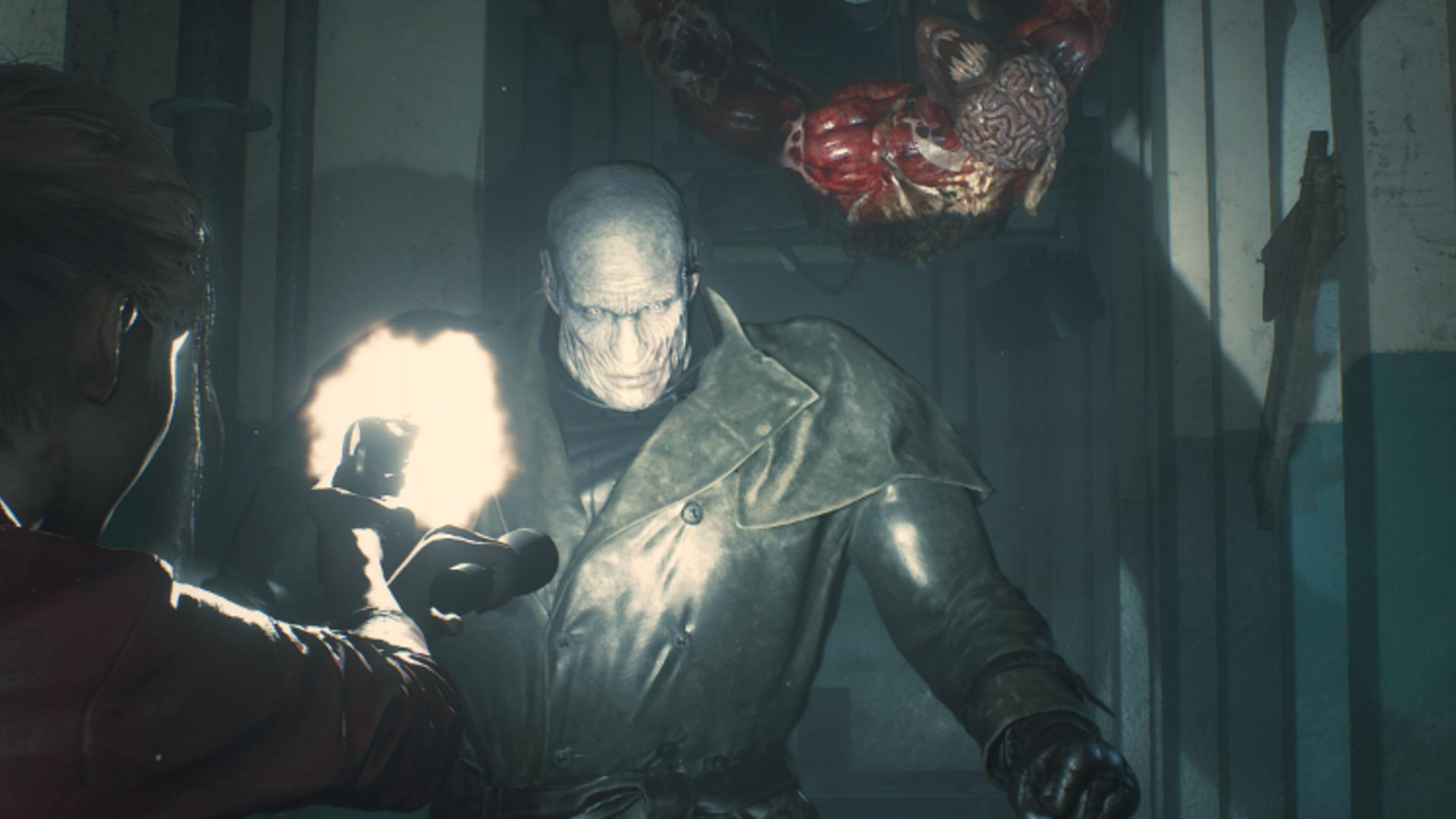 Capcom Resident Evil 2 remake cheat the undead zombies until Mr. X shows up