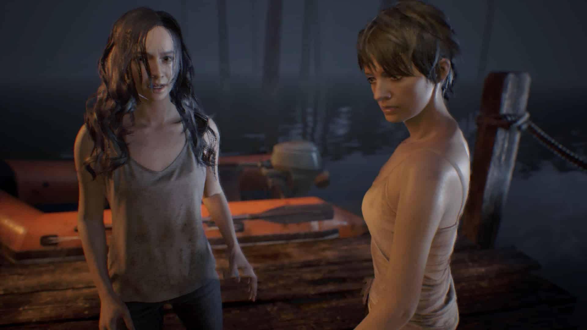 Resident Evil 7 ending choice Mia Zoe meaningless charade serum