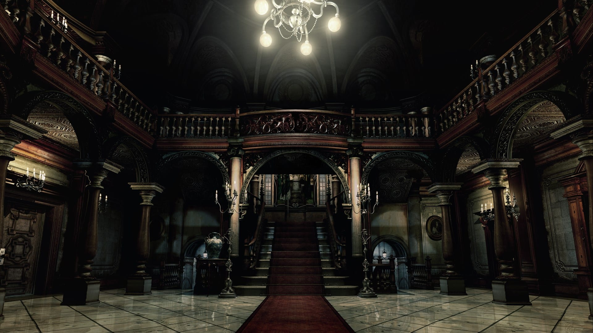 Resident Evil Spencer Mansion horror Capcom