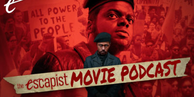 judas and the black messiah promising young woman chaos walking the escapist movie podcast jack packard darren mooney