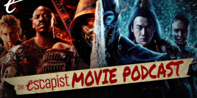 the escapist movie podcast live jack packard darren mooney jesse mortal kombat movie 2021 simon mcquoid so bad its good