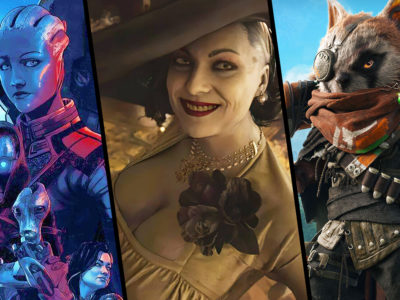 3 single player games May 2021 Resident Evil Village Mass Effect: Legendary Edition Biomutant